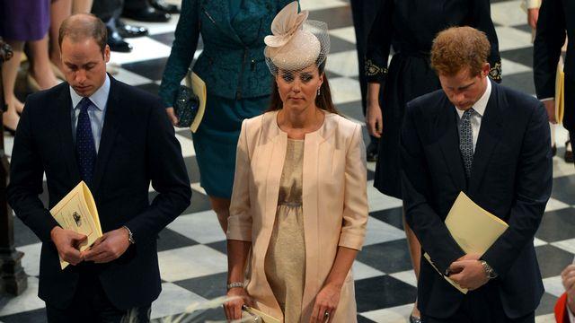 La grossesse de Kate Middleton tient la Grande-Bretagne en haleine. [Anthony Devlin - Pool / AFP]