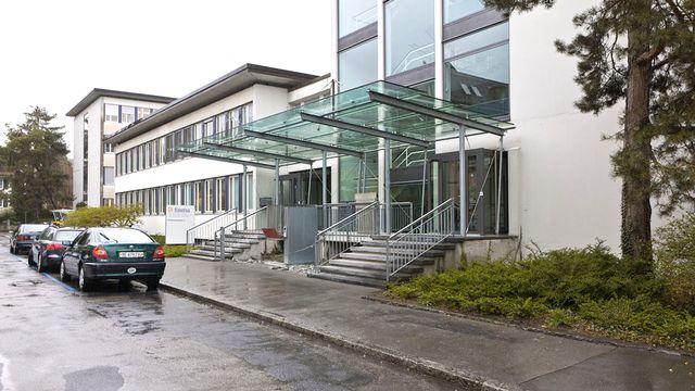 Le siège de la FINMA à Berne. [Martin Ruetschi - Keystone]