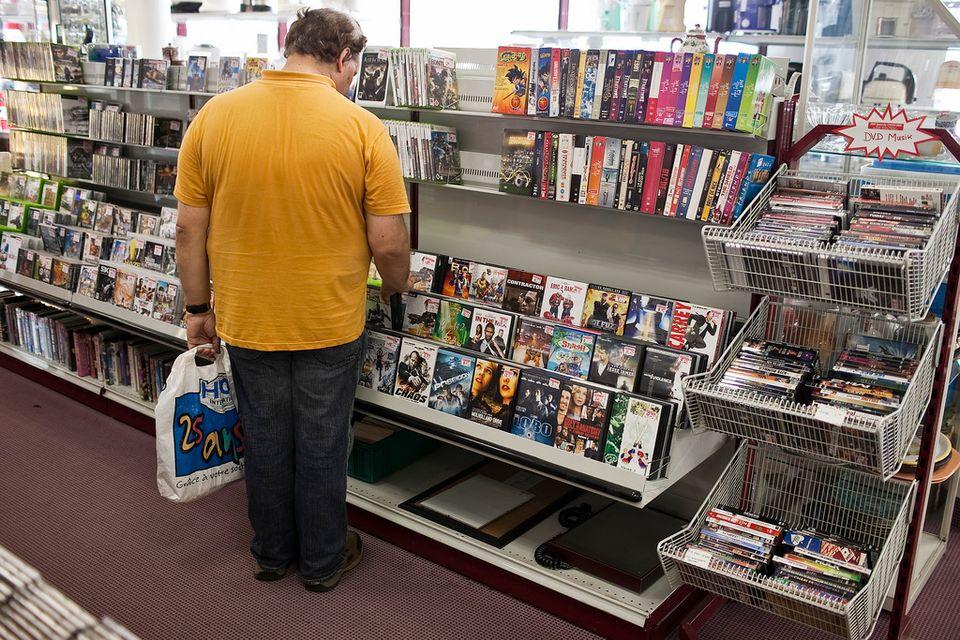 Contrairement aux ventes de DVD, les ventes de disques haute définition Blu-ray ont progressé en 2012 de 7,6%. [Gaetan Bally - Keystone]