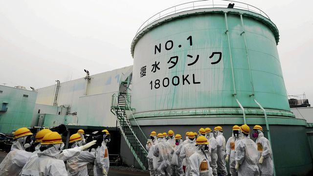 L'annonce de ces soupçons de fuites d'eau radioactive est faite alors que des taux extraordinairement élevés de radioactivité ont été mesurés. [AFP]