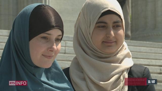 Le Tribunal fédéral donne raison aux deux jeunes filles islamiques [RTS]