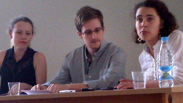 Edward Snowden en Russie. [Tanya Lokshina - AP/Human Rights Watch/Keystone]