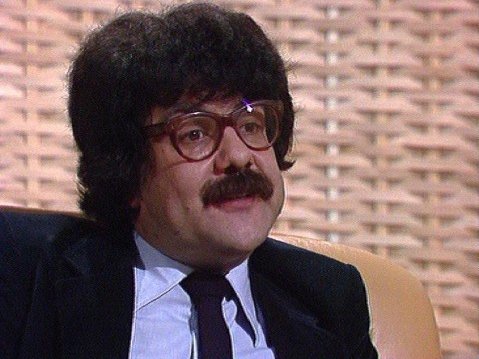 L'humoriste Lova Golovtchiner en 1982 [RTS]