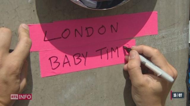 Le bébé du couple princier, Kate et William, se fait attendre [RTS]