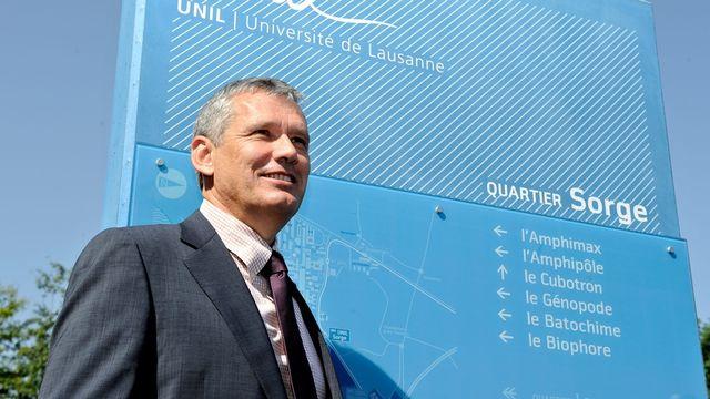 Le recteur de l'Université de Lausanne, Dominique Arlettaz. [dominic favre]