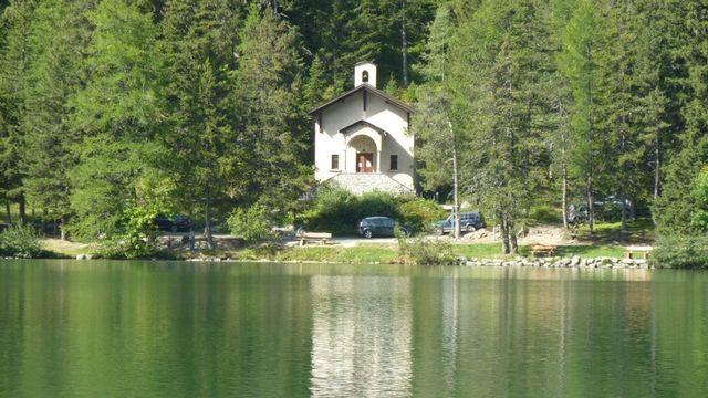 La Chapelle des Arolles à Champex. [Sabine Petermann - DR]