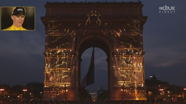 100e Tour de France: le feu d'artifice final [RTS]