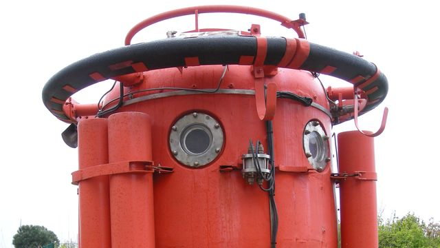 Tourelle de plongée pour travaux industriels sous-marins (COMEX). [Ji-Elle - D.P.]