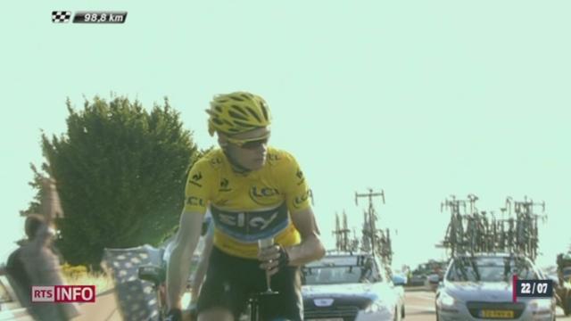 Cyclisme - Tour de France: Chris Froome a remporté cette 100e édition [RTS]