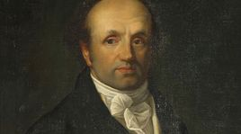 Abraham-Louis Bréguet. [Oil on canvas, anonymous before 1800 - International Museum of Watchmaking, La Chaux-de-Fonds]