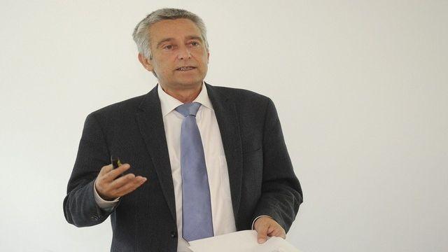 François Marthaler, conseiller d'Etat, chef du Département des Infrastructures. [Christian Brun ]