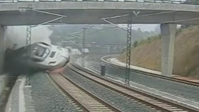 Déraillement meurtrier d'un train en Espagne [RTS]