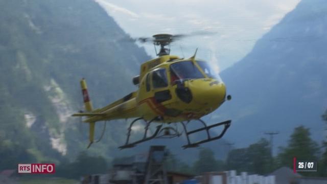 Les tensions s'aggravent entre les différentes sociétés de sauvetage héliporté [RTS]