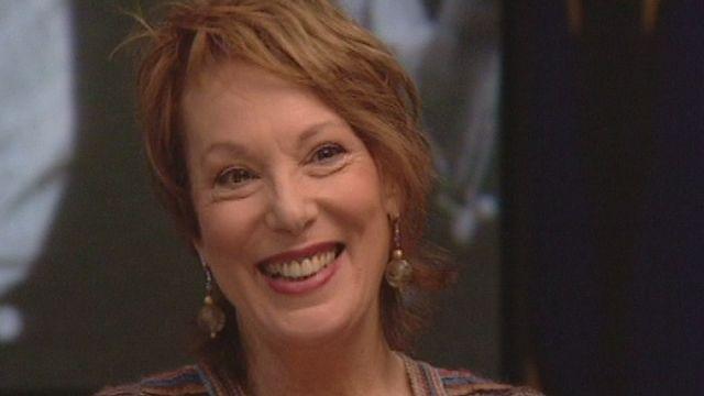 Bernadette Lafont invitée de Zig Zag Café en 2000. [RTS]