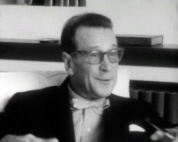 Georges Simenon interviewé en 1964.