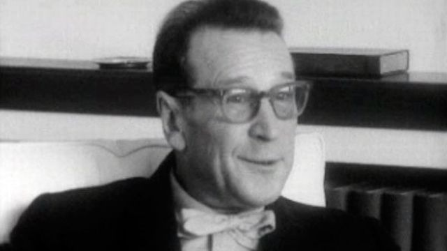 Georges Simenon interviewé en 1964. [RTS]