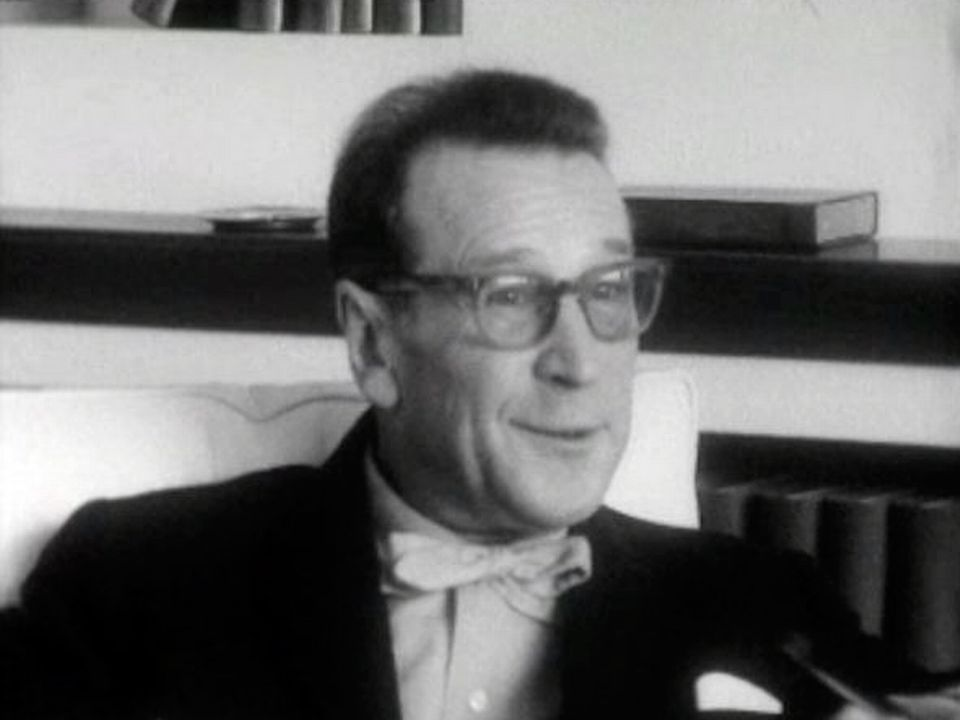 Georges Simenon interviewé en 1964. [RTS]