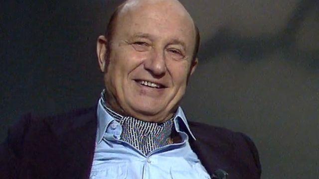 L'écrivain Frédéric Dard interviewé en 1982. [RTS]