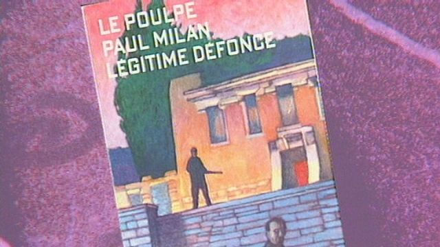 "Collection de romans policiers ""Le Poulpe"". [RTS]"