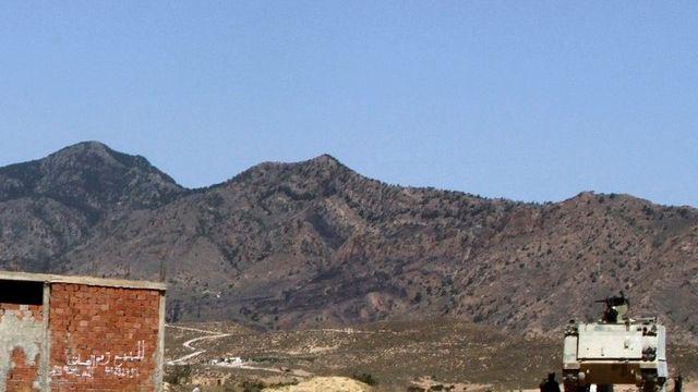 L'embuscade a eu lieu sur le Mont Chaambi, à l'ouest du pays. [Paul Schemm - AP Photo - Keystone]