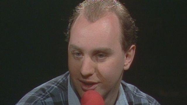 Jean-Marc Richard, cofondateur de la Dolce Vita en 1988. [RTS]
