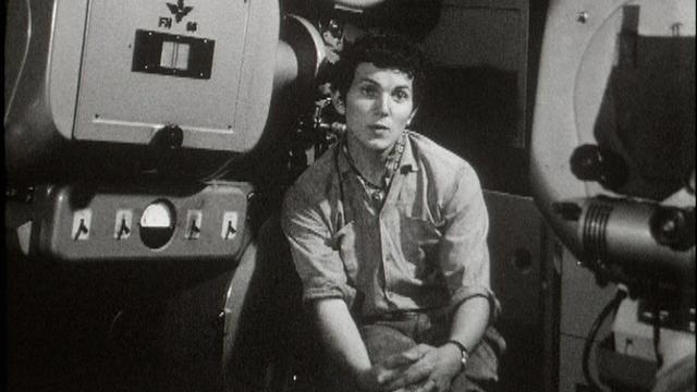 Un jeune projectionniste en 1967. [RTS]
