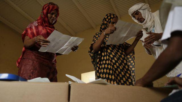 Les élections au Mali se sont déroulées dans le calme. [Kenzo Tribouillard - AFP]