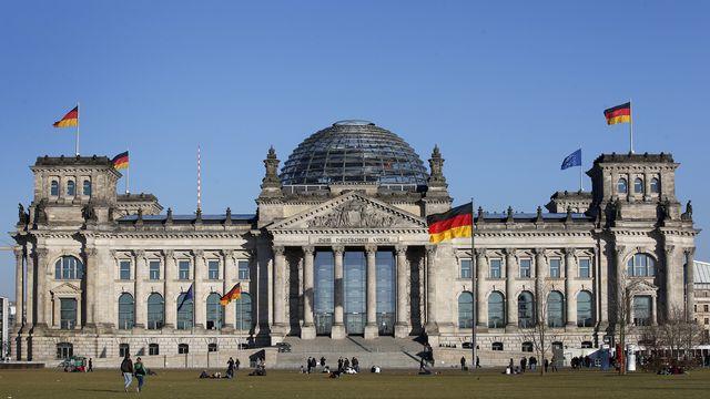 Le Reichstag, à Berlin, abrite le Bundestag. [AP Photo/Michael Sohn]