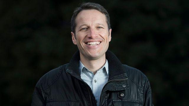 Christophe Clivaz, professeur de sciences politiques à l'Institut Universitaire Kurt Bösch à Sion. [Jean-Christophe Bott - Keystone]