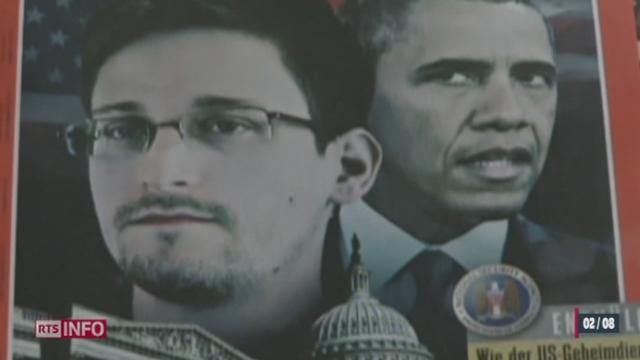 La Russie a accordé l'asile temporaire à l'ancien consultant de la NSA Edward Snowden [RTS]