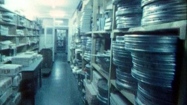 Des bobines de film à la cinémathèque de Lausanne. [RTS ]