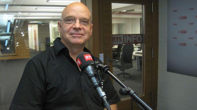 Jean Chollet, pasteur et homme de théâtre, directeur du L'Espace culturel des Terreaux à Lausanne. [Sandro Lisci - RTS]