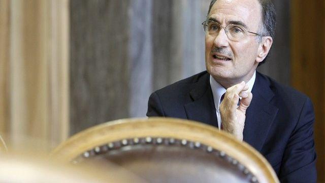 Le sénateur PLR zurichois Felix Gutzwiller.  [Peter Klaunzer - Keystone]