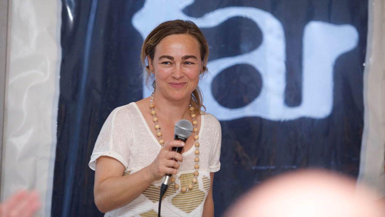 Véronique Ferrero Delacoste, directrice du far° festival des arts vivants Nyon. [DR]
