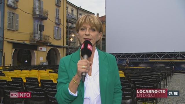 Festival de Locarno:  les précisions de Laurence Mermoud [RTS]