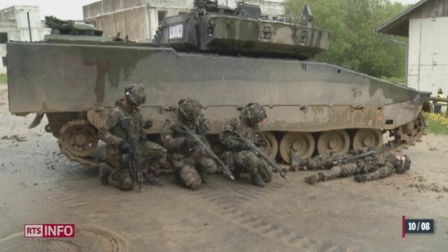 Nouvo: l'armée suisse entraine ses troupes sur un terrain ultra-sophistiqué [RTS]