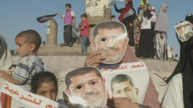 Nouvelle manifestation de soutien au président Morsi en Egypte [RTS]