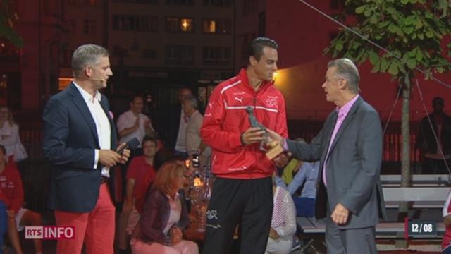 Les Swiss Football Awards ont récompensé les meilleurs joueurs du pays [RTS]