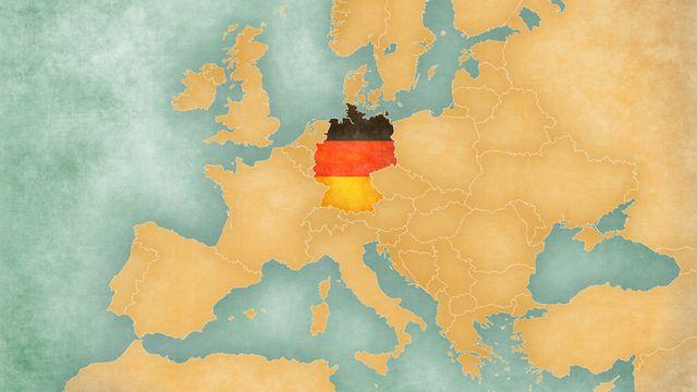 Carte Allemagne  [© tindo - Fotolia]