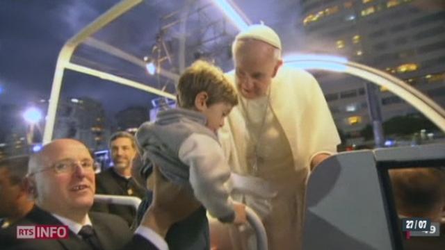 Le pape François a présidé le traditionnel chemin de croix des Journées mondiales de la jeunesse [RTS]