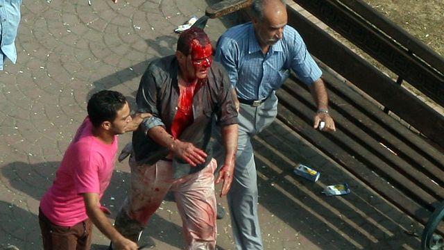 L'Egypte à feu et à sang.