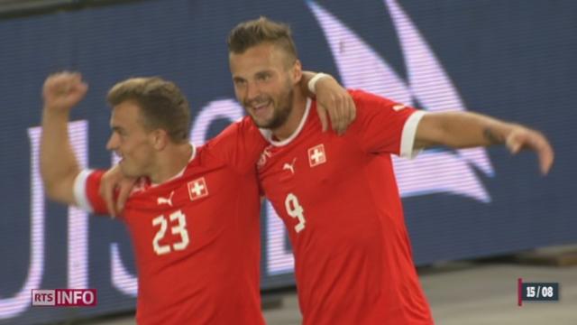 Football: la Suisse bat le Brésil en match amical [RTS]
