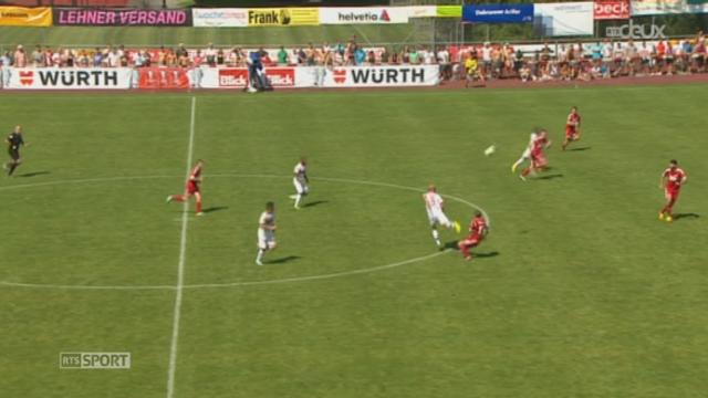 Football- Coupe de Suisse: Sion bat Sursee (3-1) [RTS]