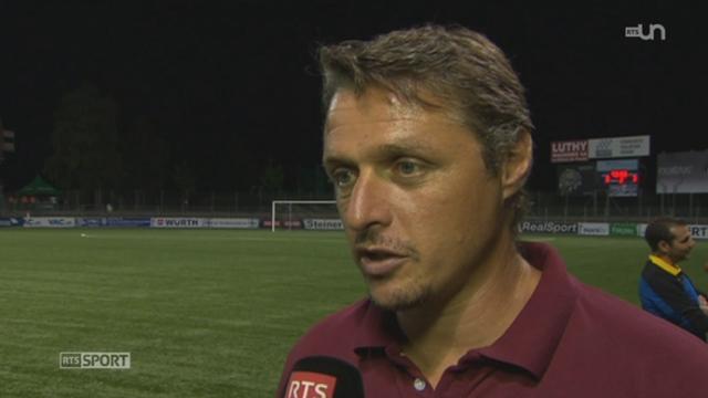 Football - Coupe de Suisse (1er tour): le Servette FC se refait une santé en s'imposant face à la Chaux-de-Fonds (3-0) [RTS]