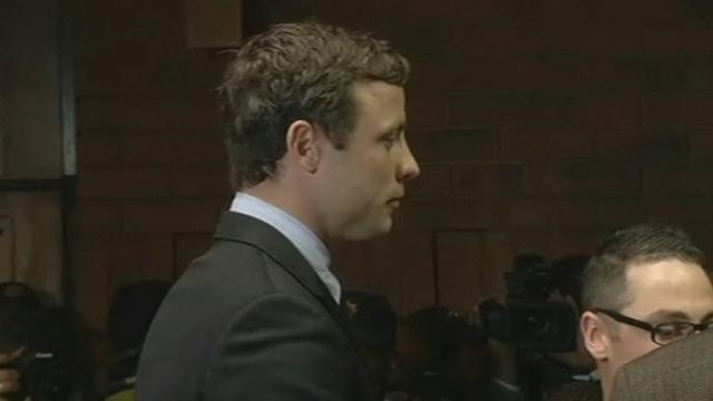 Oscar Pistorius se retrouve devant le tribunal [RTS]