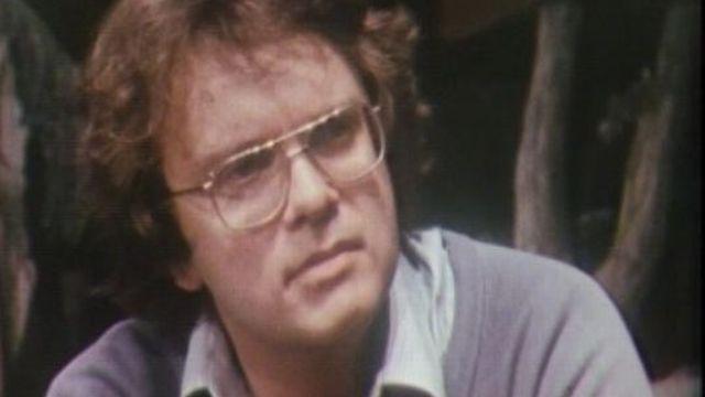 Jean-Charles Simon, animateur TV, homme de radio et metteur en scène en 1985. [RTS]