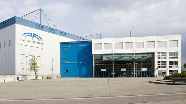 Le bâtiment de Forum Fribourg. [Espace Gruyère & Forum Fribourg]