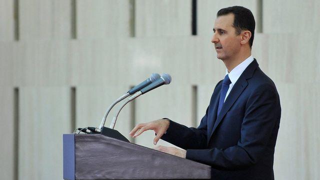Déclenchée par une révolte populaire contre Bachar al-Assad en mars 2011 qui s'est militarisée face à la répression, le conflit en Syrie a fait plus de 100'000 morts, selon l'ONU, et poussé à la fuite des millions d'habitants. [EPA/SANA - Keystone]
