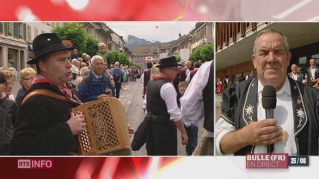 FR: la fête internationale des patois se déroule à Bulle [RTS]