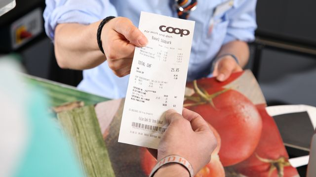 Bientôt la fin des tickets de caisse contenant du bisphénol A chez Coop. [Coop]